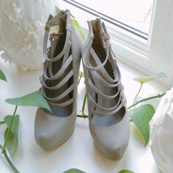 Aldo Cute Gray High Heel